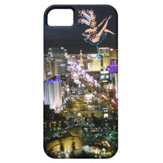 Las Vegas Boulevard vintage casino Showgirl iPhone SE/5/5s Case