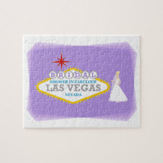 Las Vegas Bridal Shower Puzzle Game