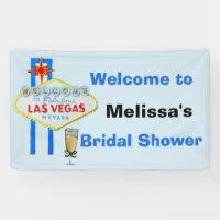 Las Vegas Bridal Shower Welcome Sign