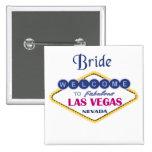 Las Vegas Bride Button
