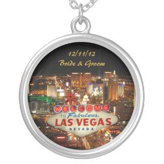 Las Vegas Bride & Groom Necklace