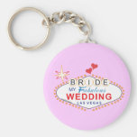 Las Vegas Bride Keychain