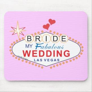 Las Vegas Bride Mouse Pad