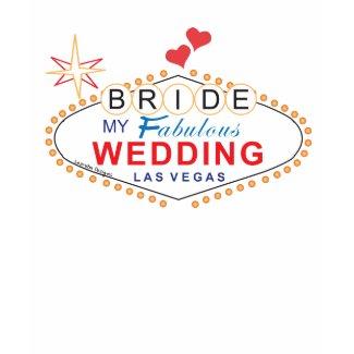 Las Vegas Bride Tee shirt