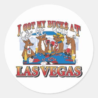 Las Vegas Bucks Classic Round Sticker