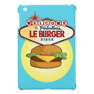Las Vegas Burger Diner iPad Mini Case