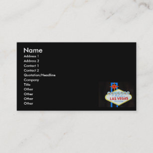 las vegas business business card - Business Cards Las Vegas