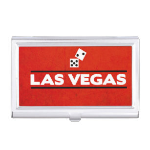 Las vegas business card holders cases zazzle las vegas business card holder reheart Image collections