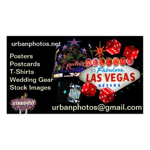 Las Vegas Business Cards Business Card Templates Bizcardstudio
