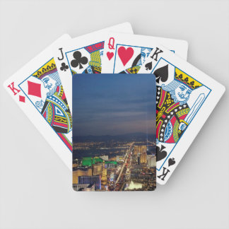 Las Vegas by Night 2 Bicycle Playing Cards