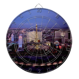Las Vegas by Night 3 Dartboard