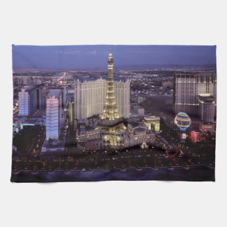 Las Vegas by Night 3 Hand Towel