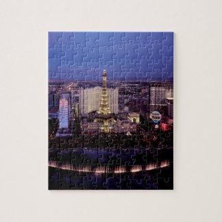 Las Vegas by Night 3 Jigsaw Puzzle