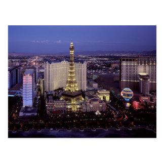 Las Vegas by Night 3 Postcard