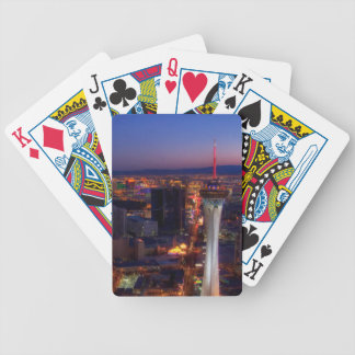 Las Vegas by Night 5 Bicycle Playing Cards