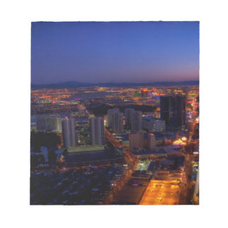 Las Vegas by Night 5 Notepad