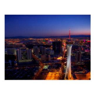 Las Vegas by Night 5 Postcard