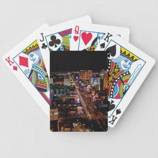 Las Vegas by Night Bicycle Playing Cards