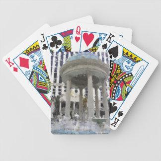 Las Vegas Caesars Palace Art Bicycle Playing Cards