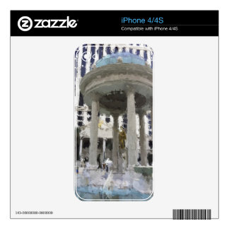 Las Vegas Caesars Palace Art Skins For The iPhone 4S