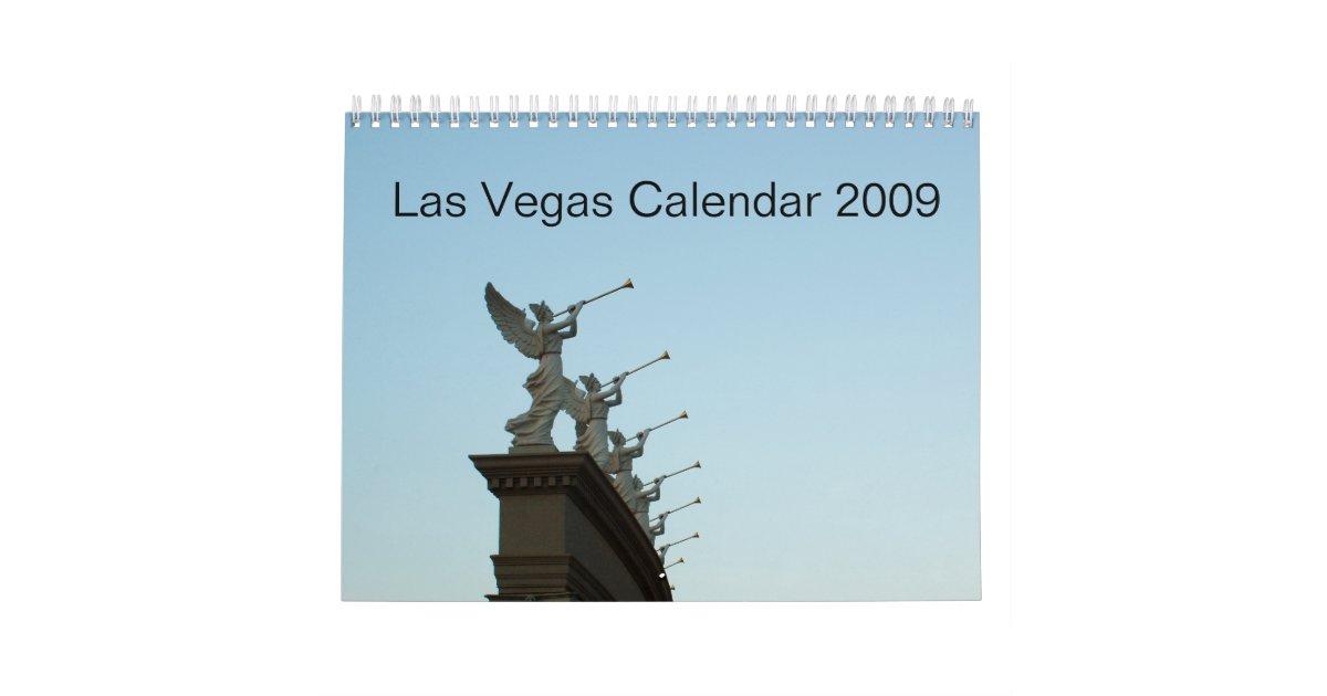 Calendar Las Vegas May : Las vegas calendar zazzle