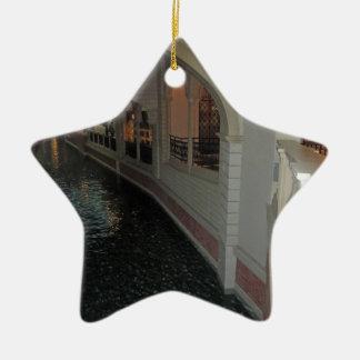 LAS VEGAS Canals below Resorts Hotels Casinos City Christmas Tree Ornament