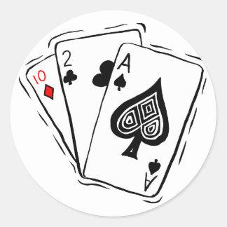 Las Vegas Card Deck Stickers