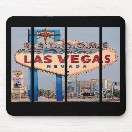 Las Vegas Cartoon Mousepad