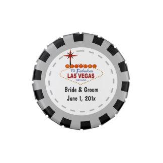 Las Vegas Casino Chip Candy Tins