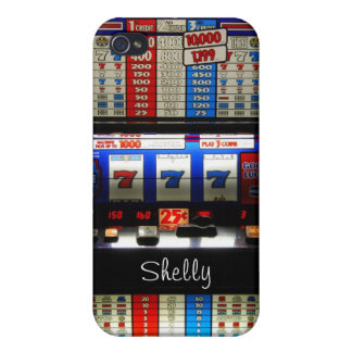 Las Vegas Casino Gambler with High Roller Name Case For iPhone 4