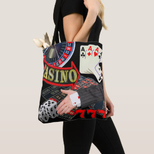 For Gamblers Tote Bags   Zazzle