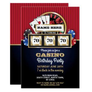 Las Vegas Invitations Zazzle
