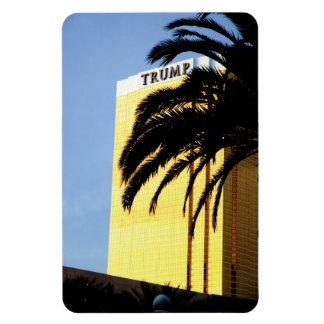Las Vegas Casino & Palm Tree Flexible Magnet