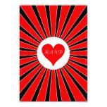 "Las Vegas Casino Poker Cards Wedding RSVP Card 3.5"" X 5"" Invitation Card"
