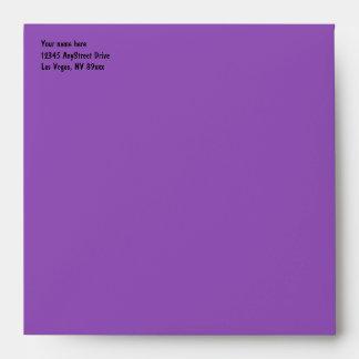 Las Vegas Casino Theme Purple Passion Envelope