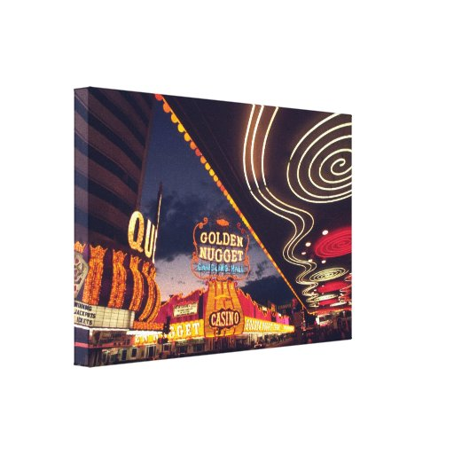 Las Vegas Casinos Canvas Print