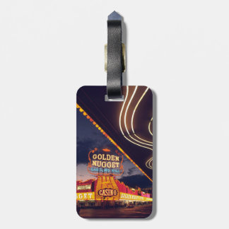 Las Vegas Casinos Luggage Tag