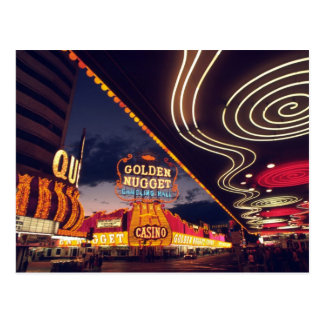 Las Vegas Casinos Postcard
