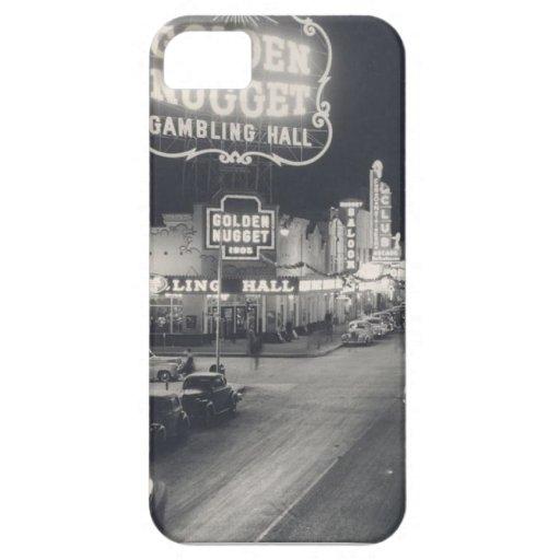 Las Vegas céntrico retro iPhone 5 Funda