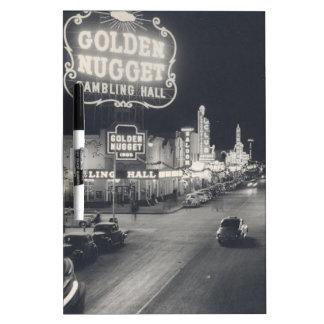 Las Vegas céntrico retro Pizarra