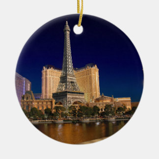 Las vegas ceramic ornament