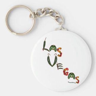 Las Vegas Chili Peppers Key Chain