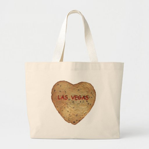 Las Vegas Chocolate Chip Heart Cookie Classic Bag