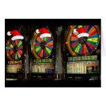 Las Vegas Christmas Slots Cards