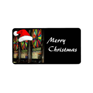 Las Vegas Christmas Slots Label
