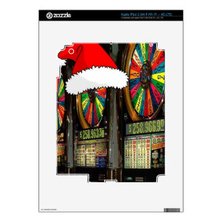 Las Vegas Christmas Slots Skin For iPad 3