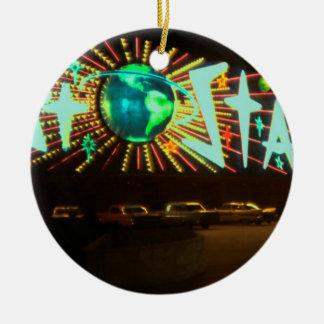Las Vegas Circa 1959 Stardust Hotel Neon Sign Ceramic Ornament