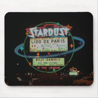 Las Vegas Circa 1959 Stardust Hotel Neon Sign Mouse Pad