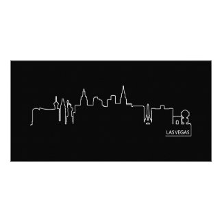 Las Vegas cityscape Card