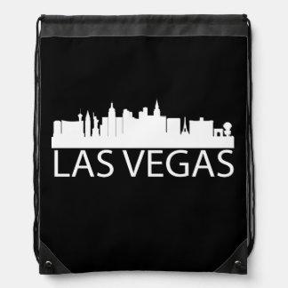 Las Vegas Cityscape Drawstring Bags